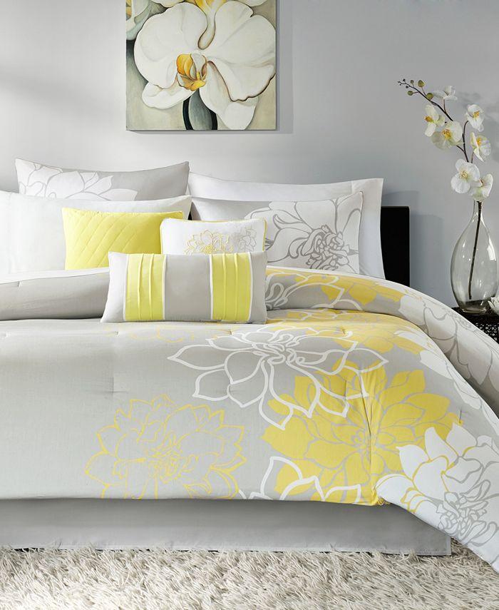 Madison Park - Lola 6-Pc. Twin/Twin XL Comforter Set