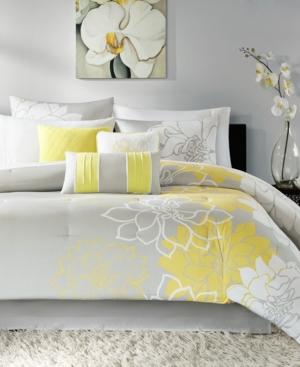 Madison Park Lola 7-Pc. Queen Comforter Set Bedding