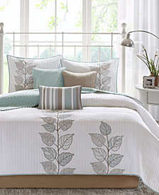 Madison Park Caelie 6-Pc. Coverlet Sets