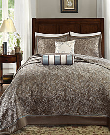 Madison Park Aubrey 5-Pc. Queen Bedspread Set