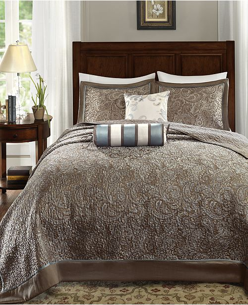 Madison Park Aubrey 5-Pc. King Bedspread Set