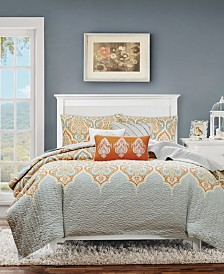 Madison Park Nisha 6-Pc. King/California King Coverlet Set