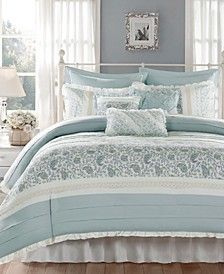 Dawn 9-Pc. California King Duvet Cover Set