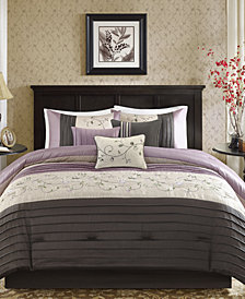 Madison Park Serene 7-Pc. Queen Comforter Set