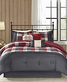 Ridge 7-Pc. California King Comforter Set