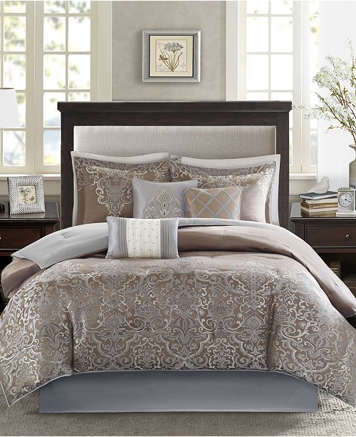 fb4588d7cd2a Madison Park Vanessa 7-Pc. Bedding Sets & Reviews - Bed in a Bag ...