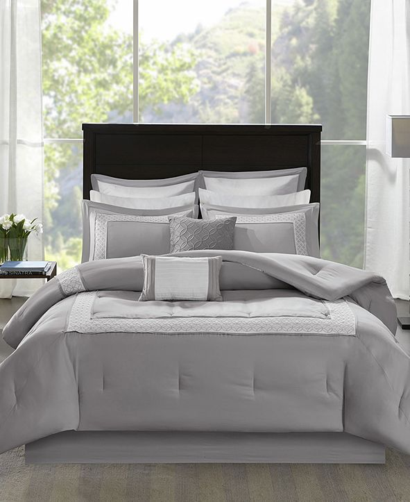 Madison Park Stratford King 8-Pc. Comforter Set