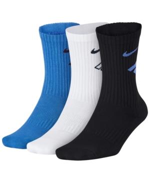 Nike 3-Pk. Cushioned Crew Socks, Little Boys & Big Boys