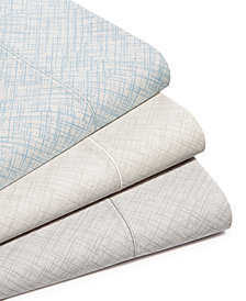 CLOSEOUT! Hotel Collection Cotton 525-Thread Count Crosshatch Sheet Set Collection, Created for Macy's