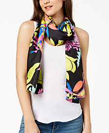 Echo Alonnah Floral Silk Scarf