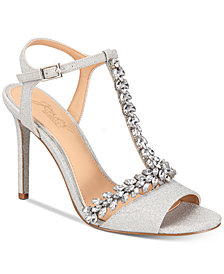 Jewel Badgley Mischka Maxi Evening Sandals