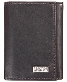 Men's Nappa Leather Extra-Capacity Tri-Fold Wallet