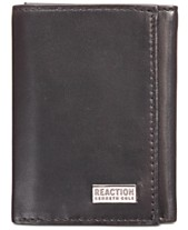 b61f54bf9 Kenneth Cole Reaction Men s Nappa Leather Extra-Capacity Tri-Fold Wallet