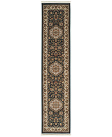 "Oriental Weavers Masterpiece Rani Navy 2'3"" x 10' Runner"