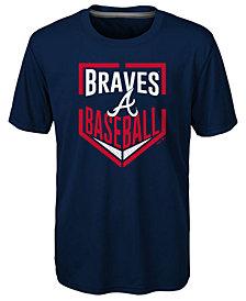Outerstuff Atlanta Braves Run Scored T-Shirt, Little Boys (4-7)