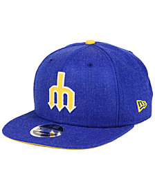 New Era Seattle Mariners Heather Hype 9FIFTY Snapback Cap
