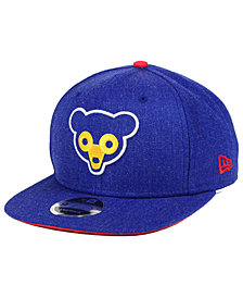 New Era Chicago Cubs Heather Hype 9FIFTY Snapback Cap