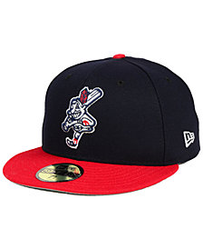 New Era Cleveland Indians Wahoo Custom 59FIFTY Fitted Cap