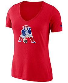 Nike Women's New England Patriots Historic Logo T-Shirt