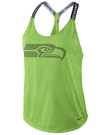 Nike Women's Seattle Seahawks Elastika Tank Top