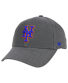 '47 Brand New York Mets Charcoal MVP Cap