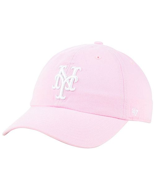 166986058386c  47 Brand New York Mets Pink CLEAN UP Cap   Reviews - Sports ...