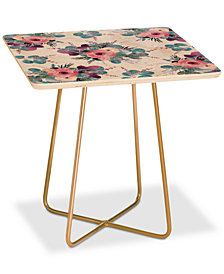 Deny Designs Iveta Abolina Summertime Breeze Square Side Table