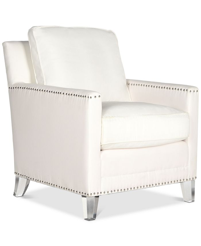 Safavieh - Kreter Club Chair, Quick Ship