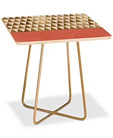 Georgiana Paraschiv Triangles Square Side Table