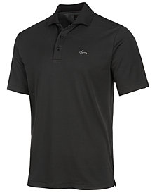 Greg Norman for Tasso Elba Men's Fine Stripe Polo, Created for Macy's