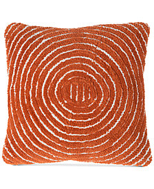 "Modern Geometric Circle 18"" Decorative Throw Pillow"