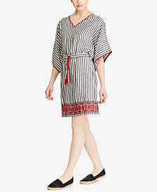 Lauren Ralph Lauren Striped Linen Dress
