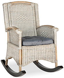 Gagan Rocking Chair, Quick Ship