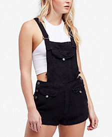 Free People Expedition Denim Shortalls