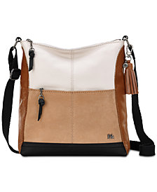 The Sak Colorblock Lucia Small Leather Crossbody
