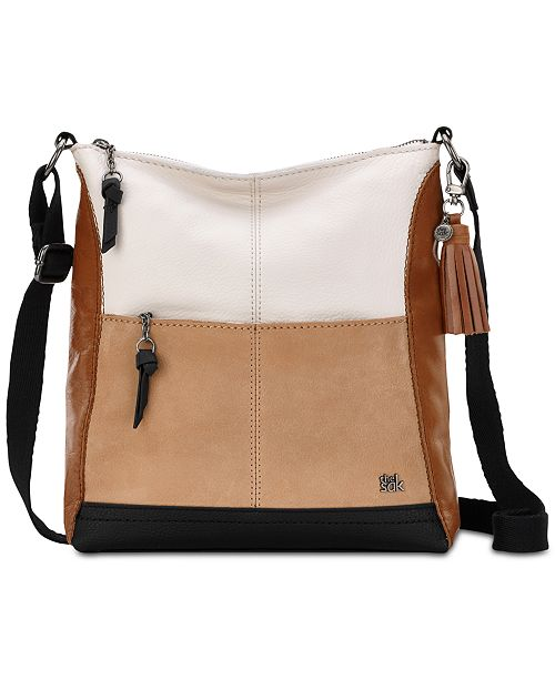 ffd924cc6 The Sak Colorblock Lucia Small Leather Crossbody & Reviews ...