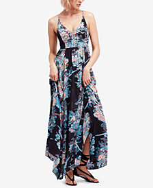 Free People Through The Vine Printed Maxi Dress