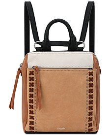 Loyola Convertible Small Leather Backpack