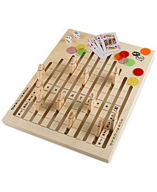 75-Pc. Wooden Horse Race Game Set