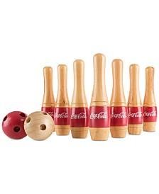 """Coca-Cola 13-Pc. Lawn Bowling Game, 8"""" x 1.5"""" x 1.5"""""""