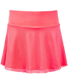 Ideology Big Girls Plus Mesh Skort, Created for Macy's
