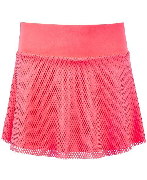 Skort Mesh Macy's Pink Ideology Plus for Girls Flamingo Created Big vtAt0w7nI