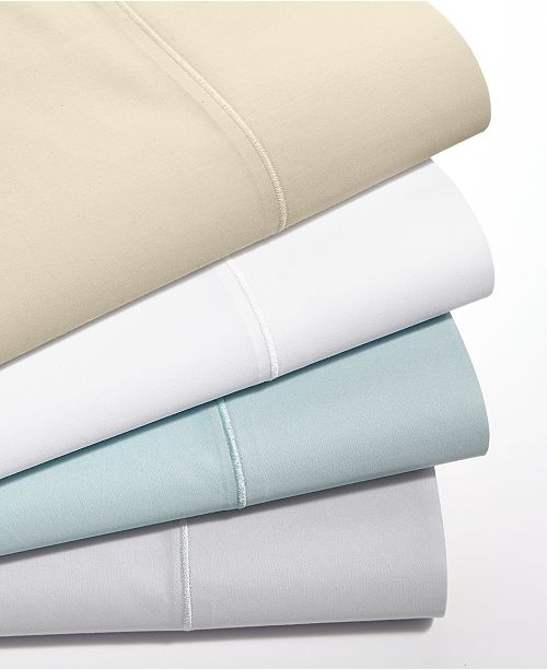 Martha Stewart Collection Organic 300 Thread Count GOTS Certified Sheet Sets, Created for Macy's
