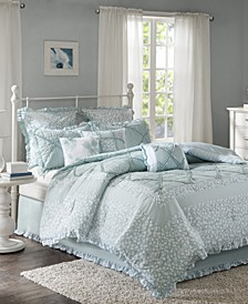 Mindy Cotton 9-Pc. California King Comforter Set