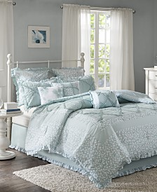 Madison Park Mindy Cotton 9-Pc. California King Comforter Set