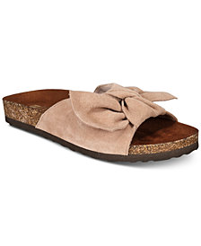 White Mountain Henley Slip-On Flat Sandals