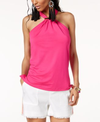 Trina Turk x I.N.C. Halter Top with Hardware, Created for Macy's