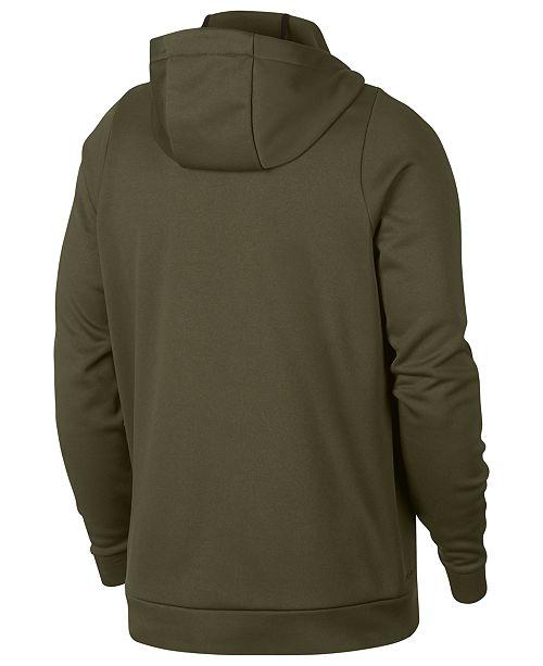 Nike Men s Therma Training Full Zip Hoodie - Hoodies   Sweatshirts ... b44cc5f07