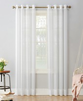 918 Sheer Voile Grommet Curtain Panel Collection