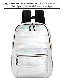 Global Design Concepts Little & Big Girls Metallic Quilted Backpack